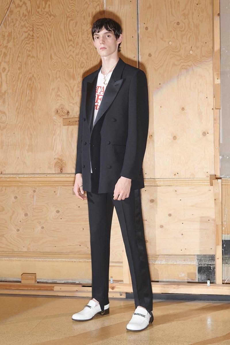 Black Fashion Designers 2020.Us 119 0 Xs 5xl New 2020 Men S Clothing Fashion Gd Hair Stylist Catwalk Slim Designer Black Satin Suit Suit Plus Size Singer Costumes On Aliexpress