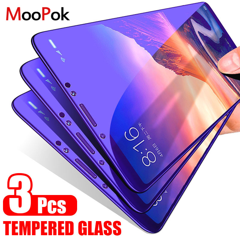 Moopok 3PCS Protection Tempered Glass For Samsung Galaxy A5 A6 A7 A9 J8 Screen Protector Film For Samsung J4 J6 A6 A8 Plus Glass