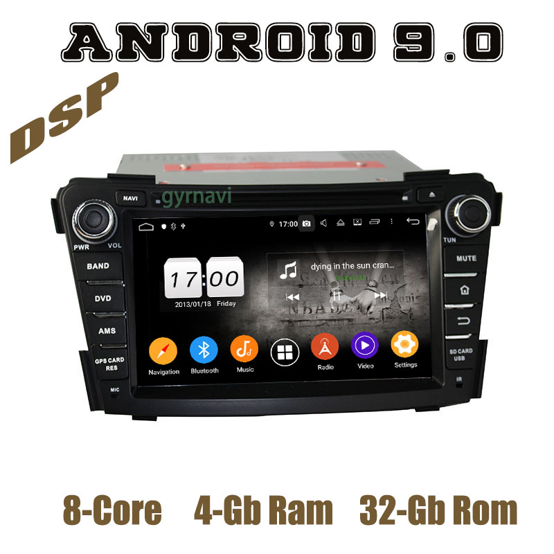 Android 9.0 IPS Car <font><b>GPS</b></font> DVD Multimedia for <font><b>hyundai</b></font> <font><b>I40</b></font> 2011-2016 with Octa core DSP 4+64GB Auto Stereo Headunit image
