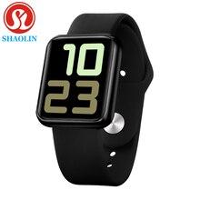 Spor akıllı izle erkek kadın spor izci kalp hızı monitörü ios Android için kan basıncı Apple iPhone 6 7 smartWatch