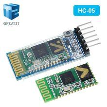 1 stücke HC05 JY MCU rücklaufsperre, integrierte Bluetooth seriellen durchgangsmodul, HC 05 master slave 6pin