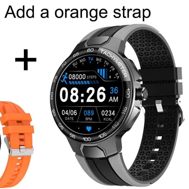 Add orange strap