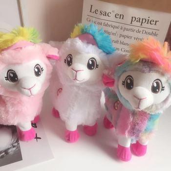 Pluszowa elektryczna muzyka dla dzieci śmieszne zabawki zwierzęta żywe Boppi łup Shakin #8217 s lamy alpaki które potrząsają głowami i skręcają pośladki tanie i dobre opinie Don t wash zulu style Pp bawełna Urodzenia ~ 24 Miesięcy 2-4 lat 5-7 lat