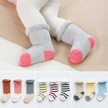 baby socks for winter 3 pairs/lot thick cotton warm newborn baby girl baby boy socks