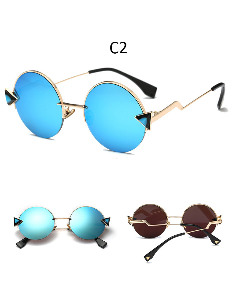 vintage Round sunglasses woman shades for women 2020 fashion Brand Gradient sunglasses ladies high quality feminine glasses