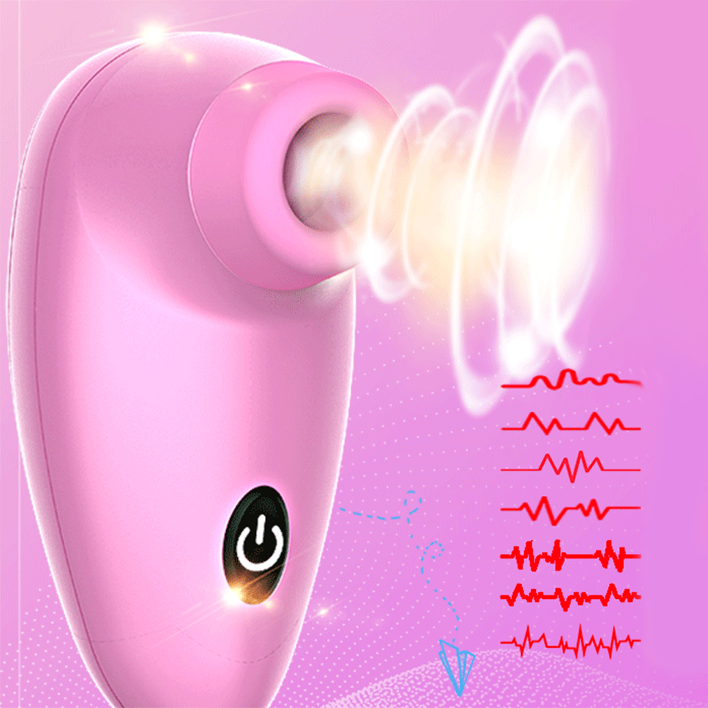 Silicone Vacuum Licking 7 Speeds Vibrator Vagina Clit G-Spot Stimulator Vibrating Dildo Oral Sex Nipple Masturbation For Women