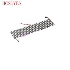 Image 5 - Module de panneau WS2812b Led, 8x8/8x3 2/16x16 Pixels, individuellement adressable, écran polychrome LED dissipateur thermique, affichage numérique Boa