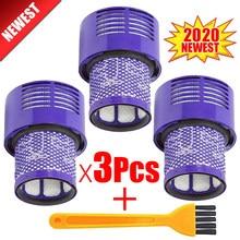Unidad de filtro Hepa lavable para Dyson V10, SV12, Animal ciclónico, limpieza Total, piezas de repuesto de Filtros de aspiradora, accesorios