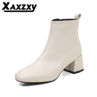 Youth fashion casual side zipper boots, women's comfortable shoes, boot children women boots 2019
