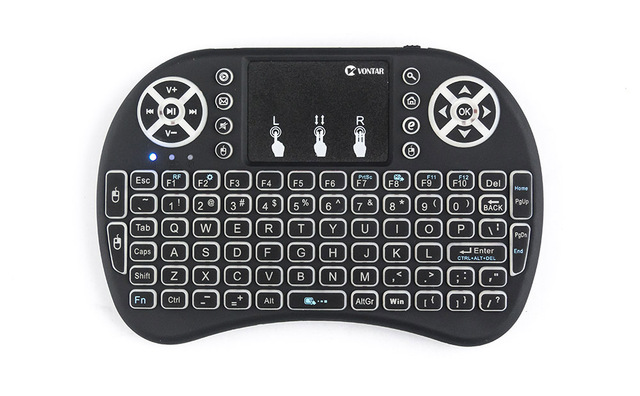 VONTAR i8 Wireless Keyboard Russian English Hebrew Version i8+ 2.4GHz  Air Mouse Touchpad Handheld for Android TV BOX  Mini PC 2
