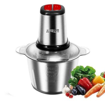 Stainless Steel Meat Grinder Chopper Electric Automatic Mincing Machine Household Grinder Food Processor