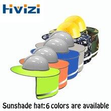 Helmets-Shield Sunshade Hard-Hat Construction Safety Stripe Protective Hi-Vis Outdoor