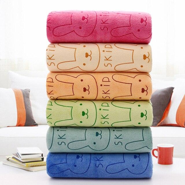Cotton Bath Towel 70*140cm 400g Bath Towel Microfiber Thickened Printed Towel Fitness Towel