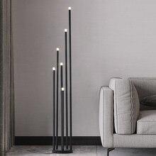 12 Вт матовый черный СВЕТОДИОДНЫЙ торшер, дизайнерская ветка, стоячая лампа для Северной гостиной, спальни, новое художественное украшение для дома, напольное освещение