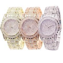 Fashion Watch Women Luxury Round Quartz Watch Wrist