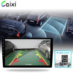 Image 4 - 9/10 pulgadas Android 9,0 2 Din auto radio Multimedia reproductor Universal estéreo para coche Gps navegación Bluetooth reproductor de vídeo trasera Cam