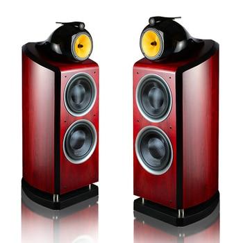 Powerful Three Way Double 10 Inch Woofer Floor Speakers