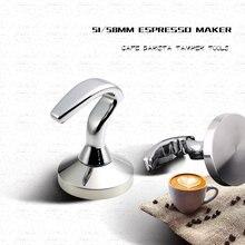 51/54/58 мм профиль из нержавеющей стали Темпер для кофе бариста
