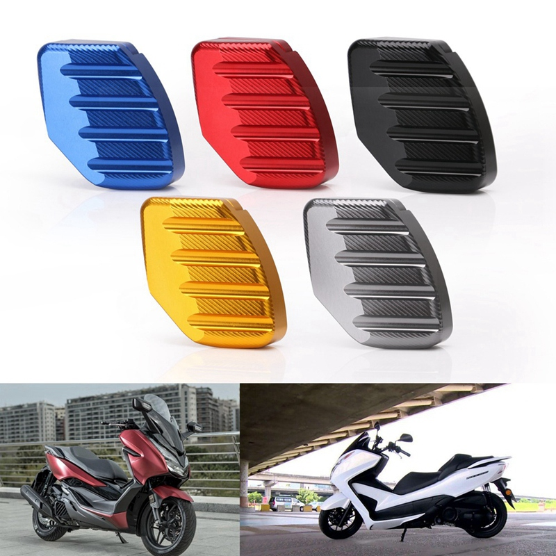 CNC Motorcycle Kickstand Footrest Foot Side Stand Extension Pads Support Plate For Honda Forza300 125 250 MF13
