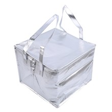 Déjeuner sac isotherme isolation pliant pique-nique Portable sac de glace alimentaire sac thermique sac de livraison de nourriture boisson transporteur sac isolé