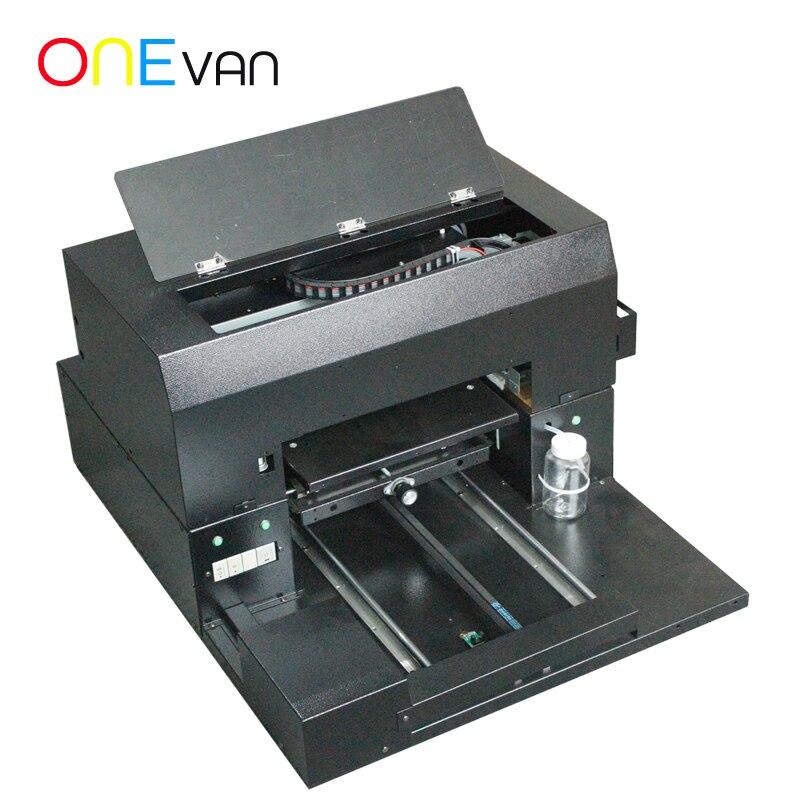 ONEVAN. Зарядка сокровище струйный принтер для логотипов электронный продукт оболочки печатная машина ABS пластиковый корпус УФ планшетный принтер