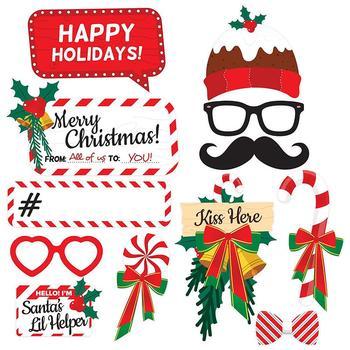 Boże narodzenie foto budka rekwizyty obraz diy tło zaopatrzenie firm na boże narodzenie nowy rok dekoracje zaopatrzenie firm w magazynie tanie i dobre opinie MINOCOOL 2-4 lat 5-7 lat 8 ~ 13 Lat Chiny certyfikat (3C) none Fantasy i sci-fi Christmas Photo Booth Props New Year Decoration