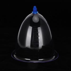 Очень большая чашка для одного Баночного массажа из поликарбоната, средство для здоровья, устройство для расслабления тела, баночки для массажа, китайский медицинский массажный комплект