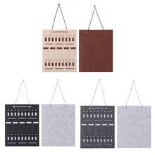 Портативная сумка для хранения солнцезащитных очков, серьги, ожерелье, ювелирные изделия, настенная дверь, подвесное кольцо, Органайзер