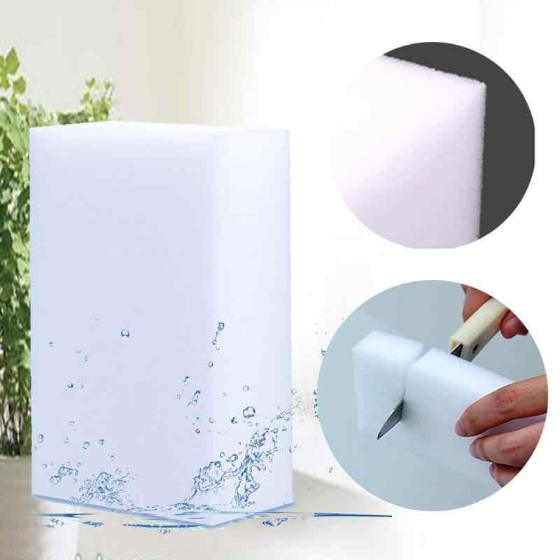 20 ชิ้น/เซ็ตเมลามีนฟองน้ำเมจิกฟองน้ำยางลบเมลามีนทำความสะอาดสำหรับห้องครัวห้องน้ำทำความสะอาดห้องน้ำ NANO ฟองน้ำ 10x6x2 ซม.ใหม่
