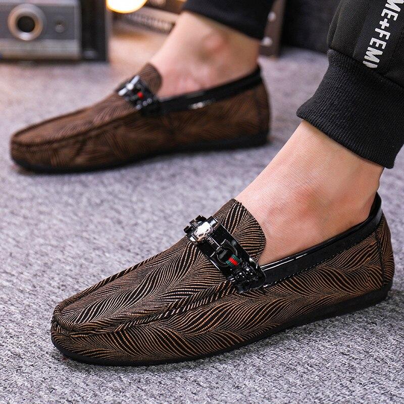 Новинка; обувь в горошек; полуботинки; Повседневная обувь; Мужская обувь; обувь для вождения; Всесезонная легкая износостойкая Молодежная трендовая обувь|Повседневная обувь|   | АлиЭкспресс