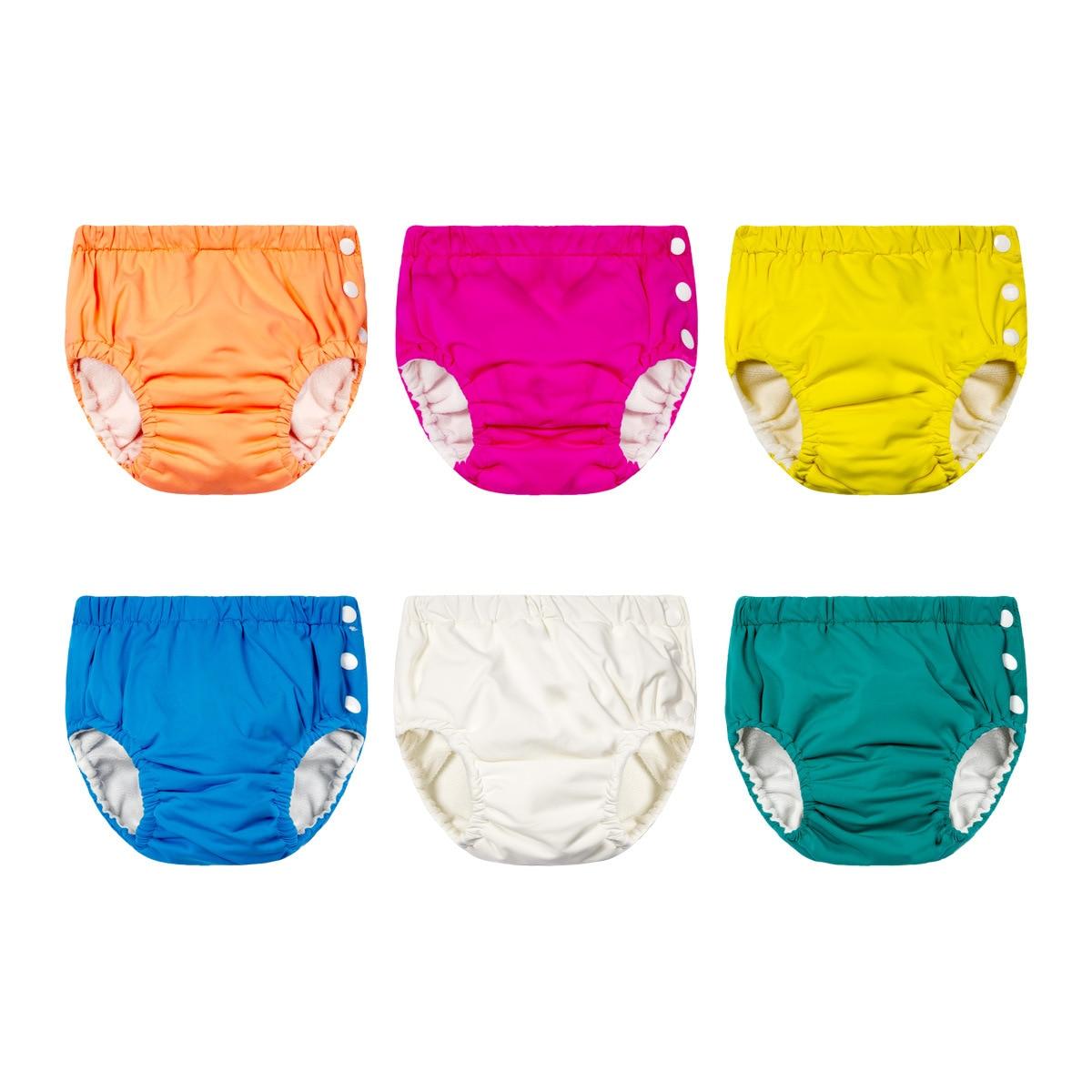 BABY'S Swimming Trunks Diaper Pants Washable Pocket Urine Learn Swimming Trunks Kids Training Pants Swimming Pool Baby Swimming
