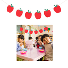 1pc Red Apple Patter...
