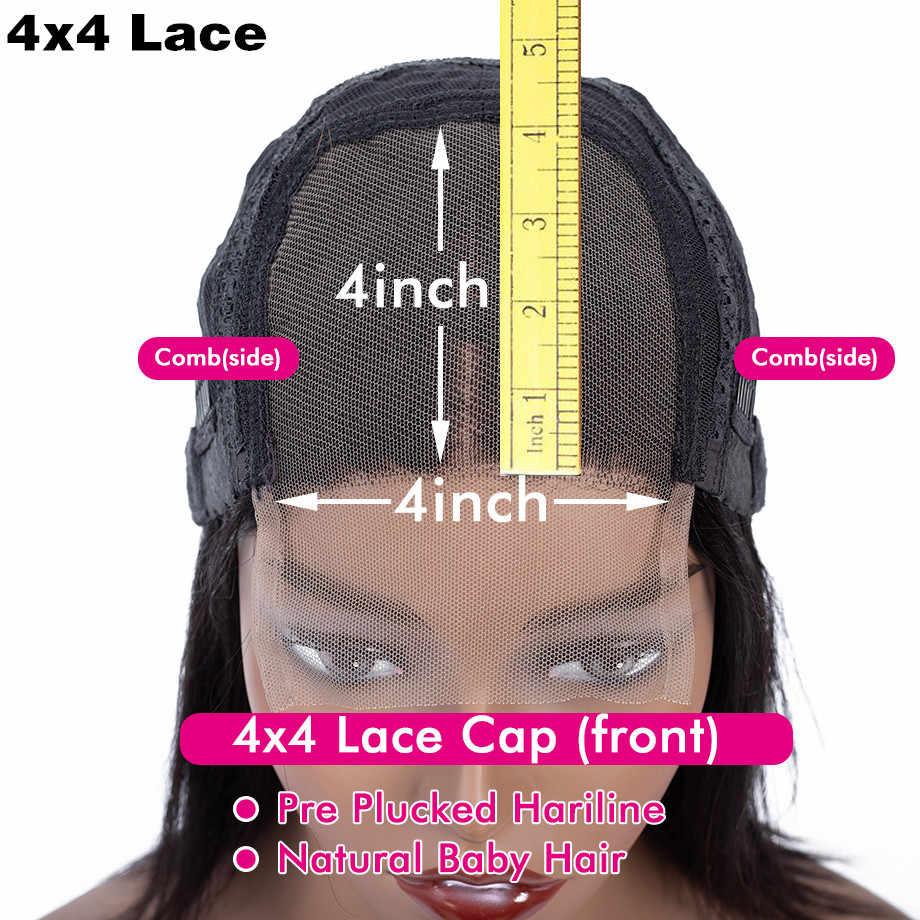 28 30 zoll Körper Welle 13x4 Spitze Front Menschliches Haar Perücken 150% 180% Dichte Pre Gezupft Remy Brasilianische spitze Schließung Perücke Für Frauen