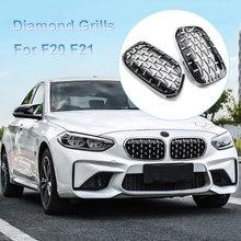 Новая передняя решетка для автомобиля в алмазном стиле гоночный