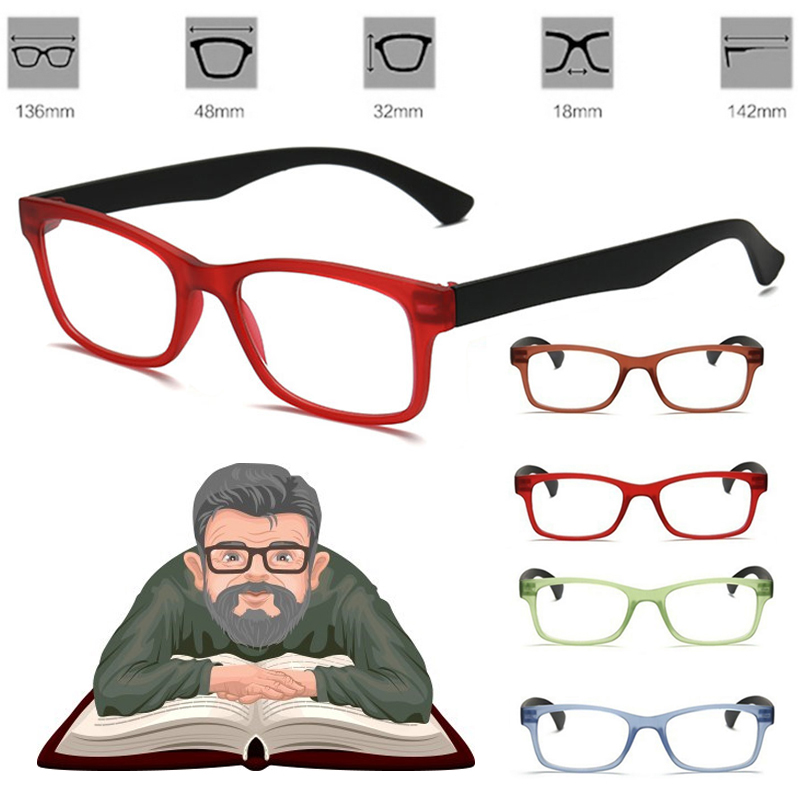 Multi-Degree Pro Watching Lightweight Glasses Vision Magnifying Glass Unisex Eyewear Magnification For Needle Reading Magnifier