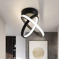 Verllas Rotatable Modern LED Ceiling Ligjts for Corridor aisle minimalist porch entrance hall balcony led Home ceiling lamp