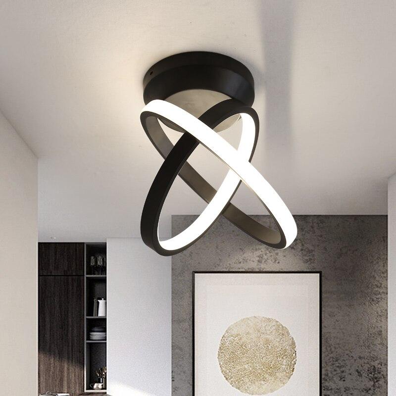 Verllas поворотные современные светодиодные потолочные лампы для коридора, коридора, минималистичного крыльца, прихожей, балкона, светодиодный комнатная потолочная лампа