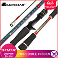 Original Lurestar Fuji Guides Hohe Carbon Bass Angelrute Köder Angelrute 1 98 M 2 58 M Spinning/Casting angelrute ML/M action|Angelruten|   -