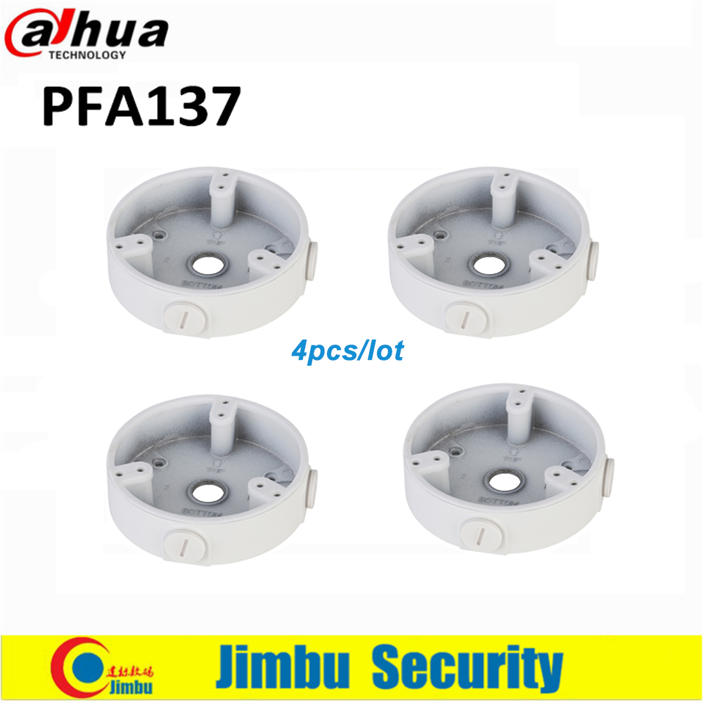 Dahua CCTV Bracket PFA137  4pcs/lot  Water-proof Junction Box  IP Camera Brackets Camera Mounts CCTV Accessory