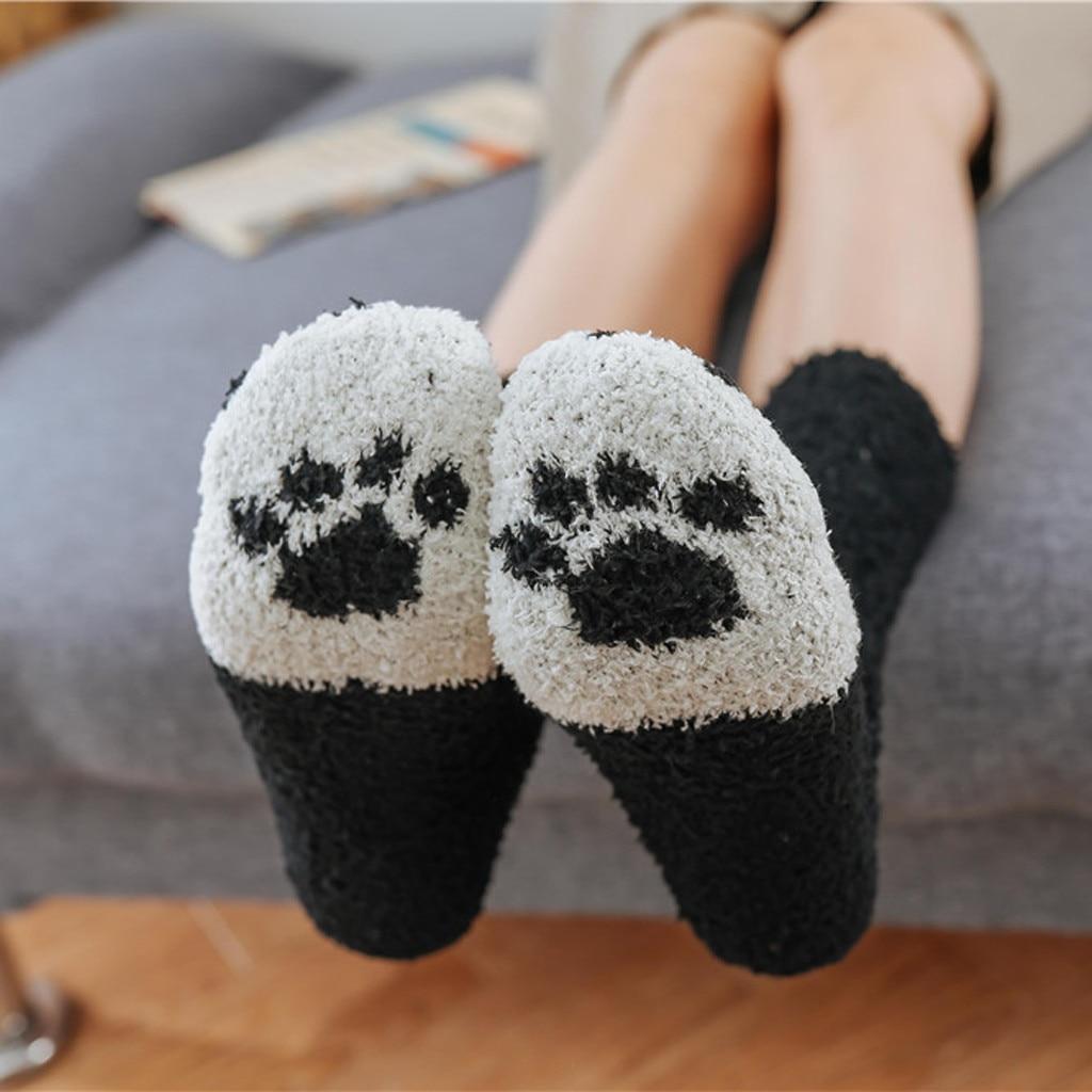 Cozy Warm Cat Themed Socks