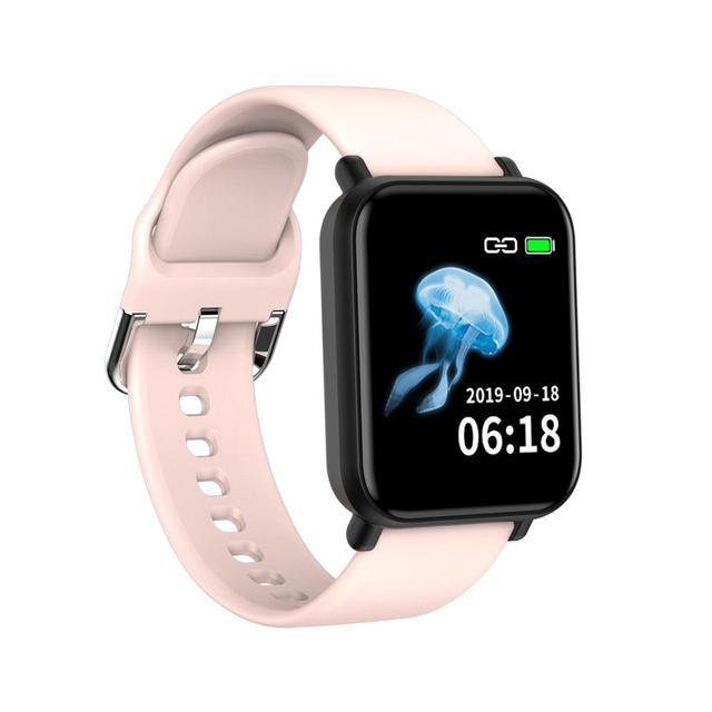 女性男性スマート電子時計高級血圧デジタル腕時計ファッションカロリースポーツ腕時計女性スポーツ腕時計ギフト