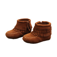 Autumn 2019 New HanTong Shoes, Children's Leather Fashion Shoes, Children's Shoes and Bovine Shoes