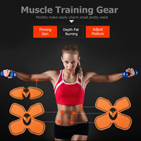 Big Sale Muscle Training Gear Muscle Stimulator Body Slimming Shaper Machine Body Exercise Stimulator Shape Fitness Massager