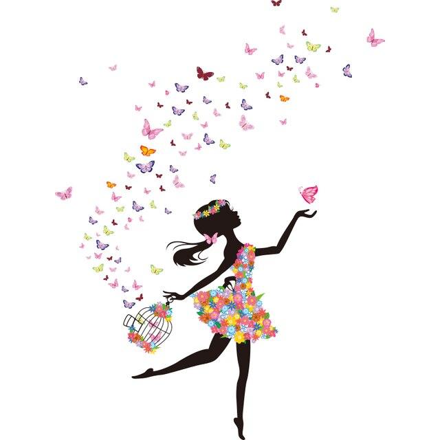 Fairy Girl 130*120cm Wall Size 4