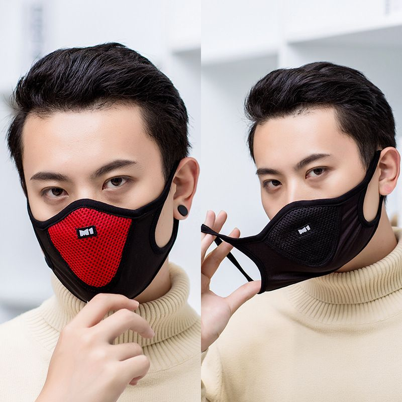 Breathable Comfortable Cycling Anti-Dust Anti-fog Sports Mouth Mask Riding Outdoor Dustproof Sand Facial Protective Cover Masks
