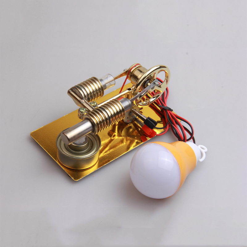Stirling Engine External Combustion Engine Small Generator Intellectual Development Steam Engine Model Science And Education Toy