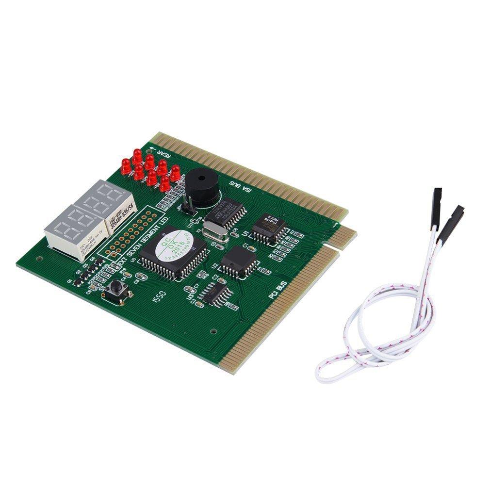 Hot Newest 4-Digits Analysis Diagnostic Motherboard Tester Desktop PCI Express Card Hot Sale
