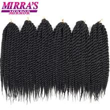 "Mirras Mirror 6pcs Twist Hair 12""18""22"" Havana Twist Crochet Braids Synthetic Braiding Hair 2X 12strands/Pack"
