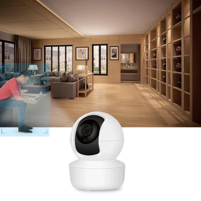 1080P Wireless IP Camera AI Human Tracking Home Security Video Surveillance Night Vision Two-way Video Call Camera Baby Monitor