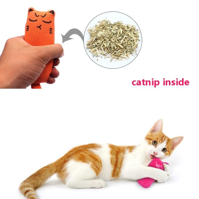 Plush Thumb Pillow For Cats 2